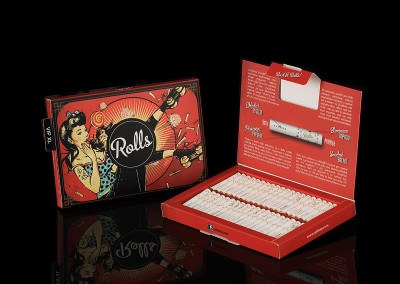Filtry Rolls VIP XL Pack Classic Fire